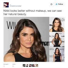 guys prefers with prefer women without makeup do you think this woman this guy who thinks