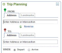 Tripplanner Com Desktop And Mobile Version Trip Planner King County Metro Transit