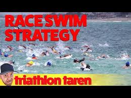 beginner triathlete race swim strategy
