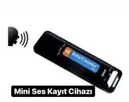 Mini USB Ses Kayıt Cihazı - Gizli Kamera