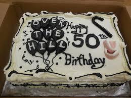 Novelty Birthday Cakes For Men Happy Dad Cake Designs 50th Pinterest