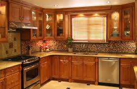 Dark Maple Kitchen Cabinets Natural Maple Kitchen Cabinets Granite