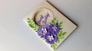Beautiful Handmade Birthday Card Idea Diy Greeting Cards For