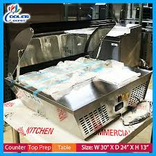 27 countertop sandwich refrigerator salad salsa bar cooler table cooler depot