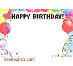 Printable Happy Birthday Template Free Greeting Cards Pop Up