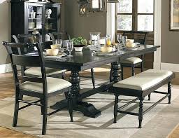 mesmerizing dining table sets with bench dining room table dark wood inspirations black wood dining room