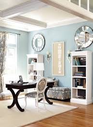 blue home offices light blue and home office on pinterest blue home office