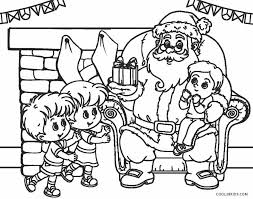 Free printable santa coloring pages for kids. Free Printable Santa Coloring Pages For Kids