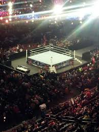 Wells Fargo Wwe Seating Chart Wells Fargo Center Section 210 Row 1 Seat 13 Wwe