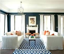decoration navy orange blue and yellow living room decor grey