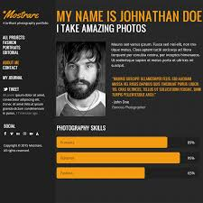 Charming Resume And Portfolio Samples Pictures Inspiration