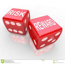Risk And Reward Words On Dice Stock Illustration Image 17096376