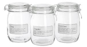 Retro Kitchen Storage Jars Coffee Tea Storage Jars Coffetable