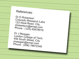 How To Write References On Resume How To Write A Technical Resume 100 Steps With Pictures WikiHow 99