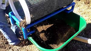 garden rolling sifter ing now on worm casting compost garden soil you