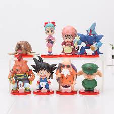 <b>13PCS</b> /<b>Set DragonBall</b> Z Childhood Series Son Goku Chichi Bulma ...