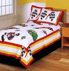 race car twin bedding set inspiring race cars boys bedding twin quilt set checd racing flags