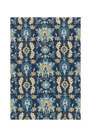 image of loloi rugs francesca rug blue ocean