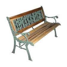 cast iron garden bench cast iron park