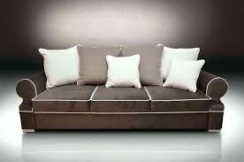 sofa with piping sofa bed royal chocolate brown cream piping fabric sofa with contrast piping