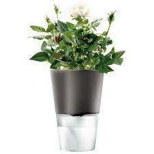 Self-Watering Flower Pot by Eva Solo