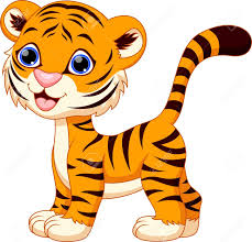 cute animated baby tigers. Exellent Baby Cute Baby Tiger Cartoon Vector Cute Female Jpg 1300x1254  Tigers Throughout Animated Baby Tigers