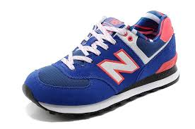 new balance blue. new balance wl574ycb yacht club lovers blue pink red shoes-for women i