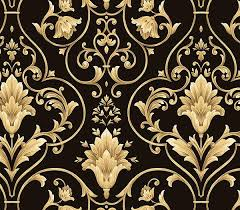 Black And Gold Pattern