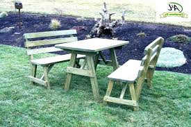 picnic table with detached benches round picnic table picnic table with detached benches picnic table with detached benches plans foot round wood picnic