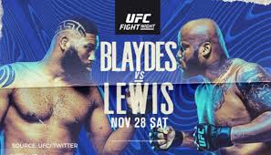 Ufc fight night рейес vs прохазка. Ufc Fight Night Live Stream Blaydes Vs Lewis Preview Complete Fight Card