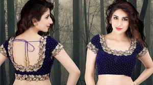 Saree Blouse Designs Front And Back 2017 Latest Blouse Designs Front And Back