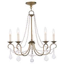 antique gold chandelier chain