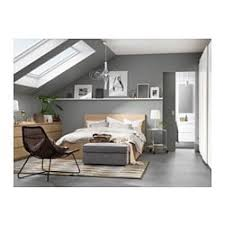 malm high bed frame 2 storage bo white stained oak veneer luröy