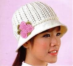 Crochet Patterns Hats New Cool free crochet patterns hats cloche bonnet hat free crochet