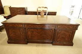 antique mahogany large home office unit. large mahogany executive desk with detailed carving file hangers for legal size folders antique home office unit f