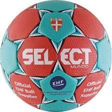 <b>Мяч гандбольный Select Mundo</b> Red (красно/голубой) р.2, цена ...