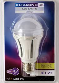 Livarno Lux Led Lamp 7w E27 Lidl Blog Blog