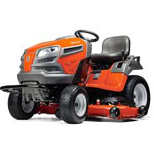 husqvarna garden tractor. husqvarna lgt2654ca 26-hp v-twin hydrostatic 54-in garden tractor with mulching r