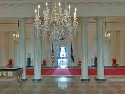 white house entrance hall