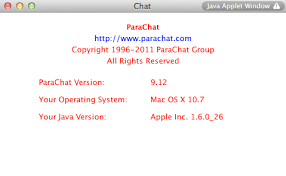 how to install missing java plug in mac os x lion os x  6 reload the web page where the parachat room is located and the parachat applet will load you verify the java version from the chat room s help menu