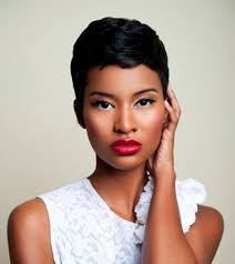 cute short hairstyles for black women 36