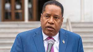 Right-wing Republican Larry Elder says ...
