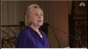 Hillary Clinton Cite Elle Aussi La Bible Pour Dénoncer La Tolérance Zéro De Trump
