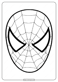 Here are the top 25 spiderman coloring pages that you can let him choose from get printouts of spiderman mask printable coloring page download. Free Printable Spiderman Mask Coloring Page