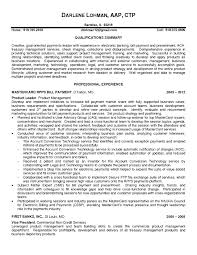Technical Product Manager Resume The Letter Sample