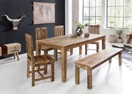 Esszimmertisch 180 X 90 X 76 Cm Mango Massiv Holz Design Landhaus
