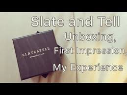 slate and tell jewelry unboxing review