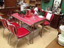 Retro Red Kitchen Red Retro Kitchen Table And Chairs Cliff Kitchen