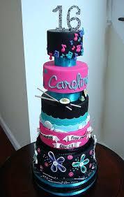 Sheet Cake Ideas For Graduation Five Tier Sweet Birthday Girl Who
