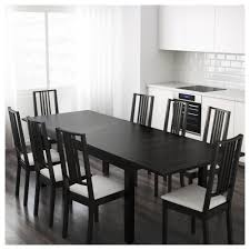 Kitchen Table With Leaf Insert Bjursta Extendable Table Ikea